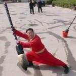 Manejo del Pincel en la Caligrafia China