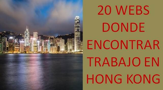 sitios en donde encontrar trabajo en hong kong
