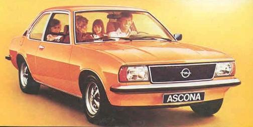 coche opel ascona