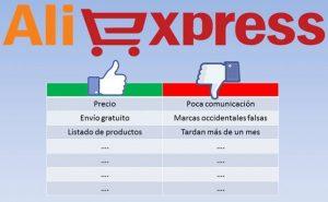 Ventajas y Desventajas de Comprar en Aliexpress