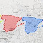 Alucinantes Mapas que no encontrarás fácilmente sobre China