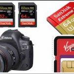 Comprar Tarjetas de Memoria para Grabar en Vídeo 4K