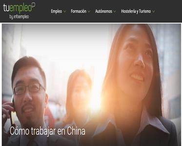 menciones infoempleo al blog experiencia en china