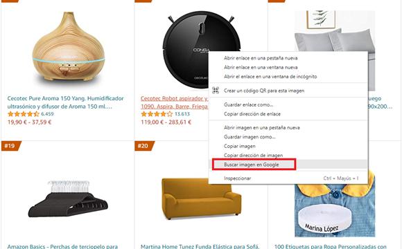 buscar un producto por imagen en google